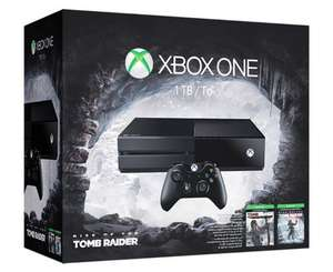 Xbox One 1TB Rise Of The Tomb Raider Bundle & Watch Dogs - £245.03 - Gamestop.ie