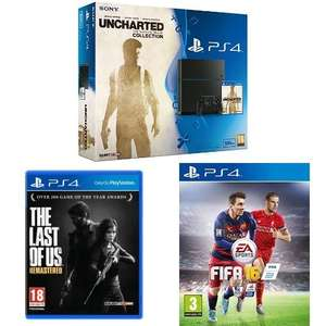 PS4 BUNDLE  £269.99 @ Amazon