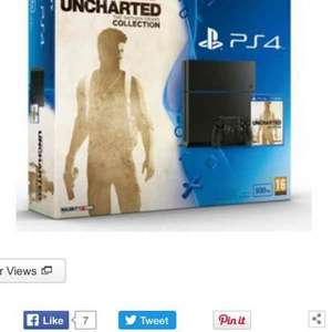PS4 500gb with uncharted the Nathan drake collection +FIFA 16 £249.99 @ Argos. 7% cash back through Quidco.
