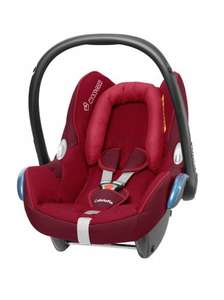 Maxicosi Cabriofix Raspberry Red Car Seat Amazon Lightening Deal £69.99