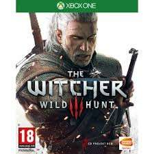 The Witcher 3 Xbox One digital download, £22.50 from Xbox Marketplace