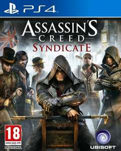 Assassins Creed Syndicate PS4/Xbox One £26 Tesco InStore