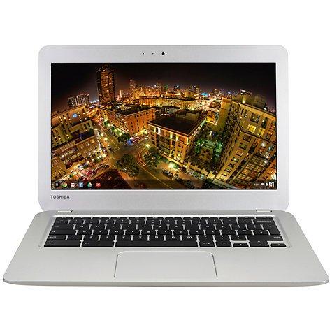 "Toshiba CB30-B-104 Chromebook, Intel Celeron, 4GB RAM, 16GB SSD, 13.3"", Full HD, Silver £219.95 @ John Lewis"