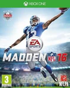 Madden 16 Xbox One £25.50 @Tesco direct