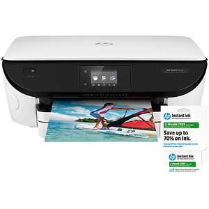 HP Envy 5646 All-in-One Wireless Printer + 2 Months HP Instant Ink, 2 year warranty @ John Lewis £49.95 (50% off)