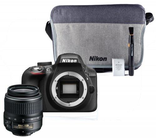 NIKON D3300 DSLR Camera with Lens Kit & Accessory Bundle - £339 @ Currys