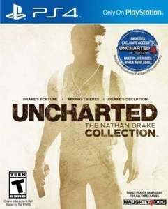 UNCHARTED: The Nathan Drake Collection PS4 - Digital Code  (US ACC REQUIRED) @ CDkeys £17.99