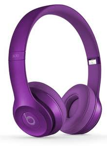 Beats by Dr. Dre Solo2 Royal Collection On-Ear Headphones - Imperial Purple, Blush Rose, Stone Grey or Blue Sapphire Colours £69.00 each @ Amazon