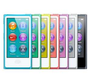 APPLE iPod nano - 16 GB, 7th Generation was £129 now £89 Today only @ Currys