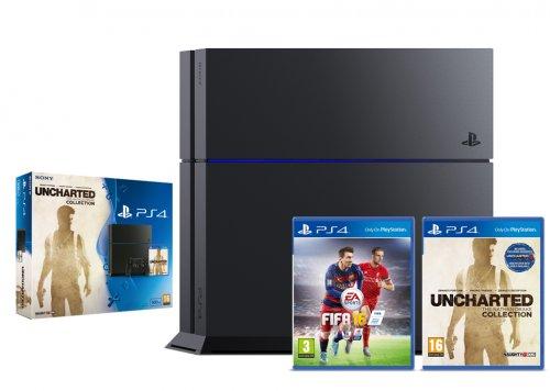 Playstation 4  + Uncharted+ Fifa 16 ShopTo Ebay - £239.99