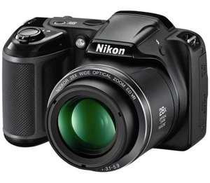 Nikon Coolpix L340 20MP 28x 4x Zoom 3 inch LCD Bridge Digital Camera now £89.99 Delivered @ Argos ebay