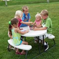 Lifetime Childrens Oval Folding Picnic Table at Costco delivered £9.99 or £10.49 non-members