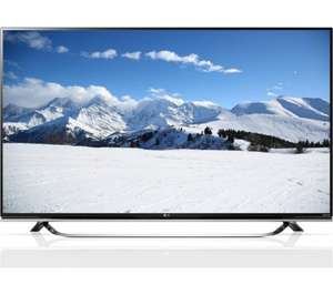 """LG 49UF850V Smart 3D Ultra HD 4k 49"""" LED TV + 5 year guarantee £649 @ Currys £551.65 after 15% Quidco"""