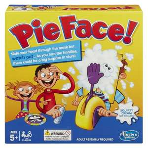 Buy One Get One Half Price on Hasbro Games at Toys R Us incl. Pie Face @ £19.99