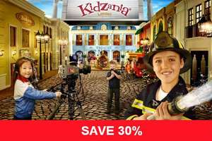 Black Friday Offer - 30% Off KidZania Tickets @ 365Tickets