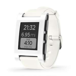Pebble Smartwatch - White  £59.00 @ Amazon