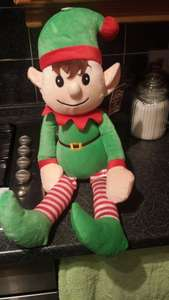 Elf - Fab for elf on the shelf £3.99 from Home Bargains instore