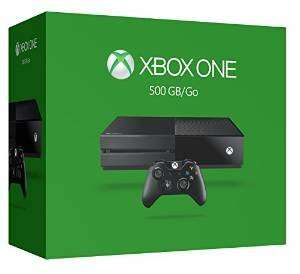 Xbox One console (500gb) £199.29 delivered from Amazon.fr