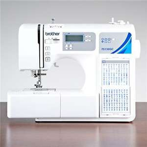 Save £270 - Now £328 - Brother FS130QC 130 Stitch Computerised Sewing Machine - Create and Craft