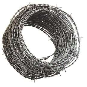 Keep your Black Friday Bargains safe with Barbed Wire, 35% off £12.99 @ Screwfix
