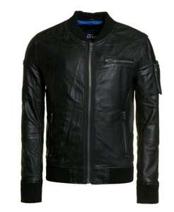 Superdry Leather Jacket £64.99 @ Ebay/Superdry