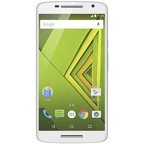 "Motorola Moto X Play Smartphone, Android, 5.5"", 4G, SIM Free, 16GB, Black/White @ John Lewis"