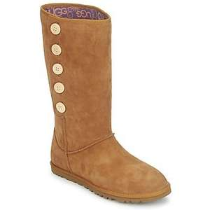 LO PRO SUEDE Chestnut Uggs £45.00 were £149.99 @ Rubber Sole