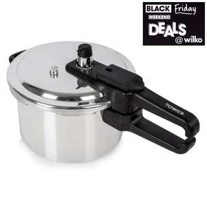 Tower Pressure Cooker 4L £15 @ Wilko with free collection in store
