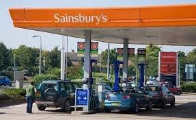 sainsburys petrol 100.9p a litre