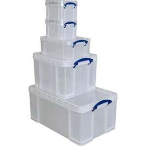 Homebase - Really Useful Boxes - 5 Piece Bonus Set £19.99 Back in stock