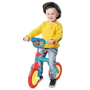 paw patrol 2 in 1 training bike £27.95 @ Asda