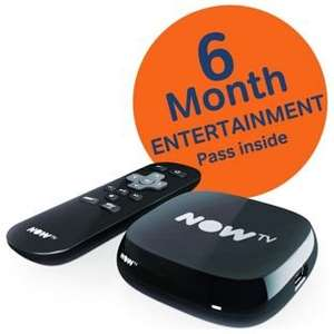 Now TV Box (New version) + 6 months Entertainment Pass £19.99 @ Argos