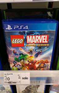 Lego Marvel Super Heroes on PS4 £10.00 @ ASDA instore