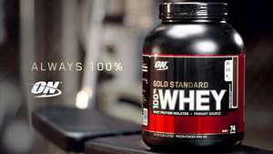 Optimum Nutrition Up To 50% Off on Selected Products / Free Delivery On Orders Over £30
