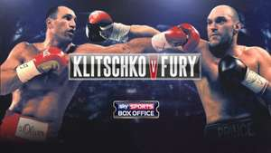 Tyson Fury 20/1 & Klitschko 7/2 Enhanced Odds for New customers