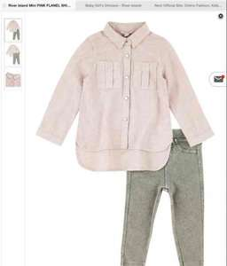 river island mini girls outfit only £12.50 on littlewoods website with free delivery