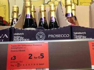6 small bottles of prosecco fizz for less than the big bottle £11.25 @ Sainsbury's