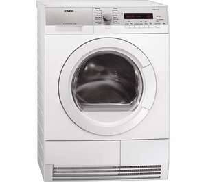 AEG T76385AH3 Heat Pump Tumble Dryer - White - £499 Possible £100 CB and 12% Quidco this weekend only @ Currys