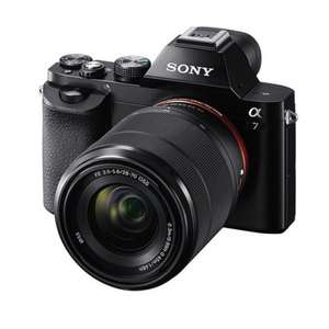 Sony A7 Full frame Camera with FE28-70mm Lens @ Harrison Cameras (£729 with cashback)