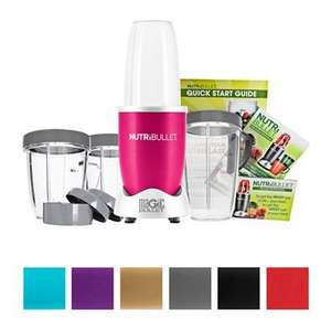 Nutri Bullet 12 piece bundle £69.99 Ideal World. choice of 7 colours.  Pay in two Instalments.