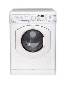 Hotpoint WDF740P 1400 Spin, 7+5kg Load Washer Dryer - White £229 @ Very
