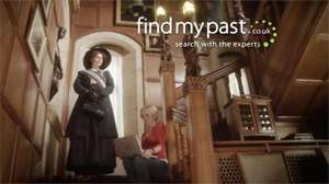 1 year World Subscription to Find My Past Geneology £24.75 instead of £124.50!