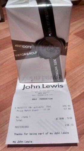 Viktor & Rolf Antidote 75ml £38.10 @ John Lewis In-Store (RRP £56)