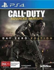 Call Of Duty Advanced Warfare (Day Zero Edition PS4) ONLY £12.50 in store @ Tesco plus other game reduced to £12