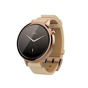 Moto 360 Rose 2nd Generation Womens 42mm Android Watch Cheaper than Google Store! £189.00 @ Amazon France