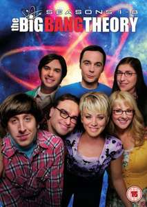 The Big Bang Theory - Seasons 1-8 Blu-ray boxset - HMV £29.99