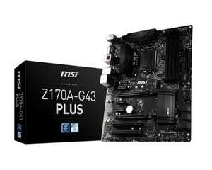 MSI Z170-G43 PLUS Motherboard £79.99 Delivered @ Box (down from £107.99)