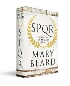 £1.80 Kindle edition of SPQR: A history of Ancient Rome - Mary Beard