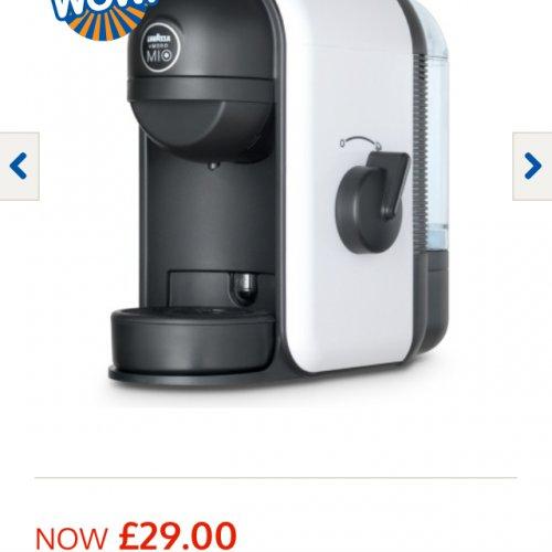 Lavazza Coffee Machine £29.00 @ B&M