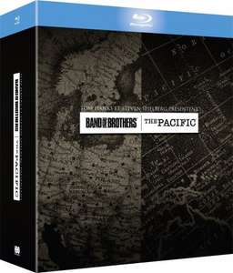 Band of Brothers +The Pacific Box Set Blu-ray £12.70 excl shipping @ Amazon.fr